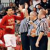 John P. Cleary   The Herald Bulletin<br /> Manual vs Liberty Christian in boys basketball.