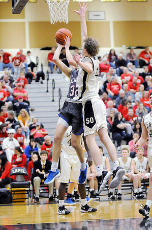 Don Knight | The Herald Bulletin<br /> First round of the sectional at Lapel on Tuesday.