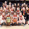 Frankton Lady Eagles are the IHSAA 2A Girls State Basketball State Final runner-ups.