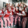 Frankton Lady Eagles vs Linton-Stockton Miners in the IHSAA 2A Girls State Basketball State Finals.