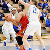 Don Knight | The Herald Bulletin<br /> Anderson faced Carmel in the sectional semi-final at Hamilton Southeastern on Friday.