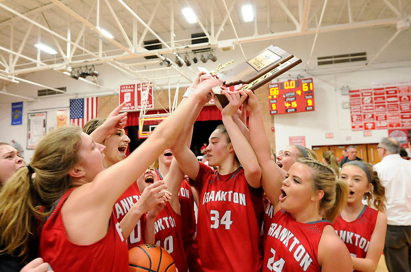 Don Knight | The Herald Bulletin<br /> Frankton hosted Monroe Central in the sectional championship on Saturday.