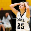 Don Knight |  The Herald Bulletin<br /> Lapel senior Taylor Anderson reacts after being called for a foul in the final minutes of the sectional final at Monroe Central on Saturday. Lapel lost to Monroe Central 57-37.