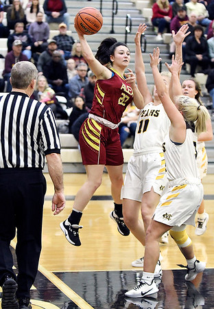 1st round of 2A girls basketball sectional at Lapel.<br /> Lapel vs Elwood & Alexandria vs Monroe Central