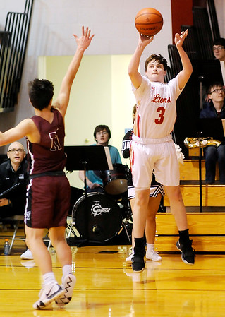 Don Knight | The Herald Bulletin<br /> Liberty Christian hosted Tri on Tuesday.