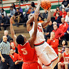 John P. Cleary |  The Herald Bulletin<br /> Fishers vs Anderson in boys basketball.