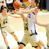 Don Knight | The Herald Bulletin<br /> Shenandoah's Andrew Bennett drives for a layup as the Raiders hosted the Lapel Bulldogs on Friday.