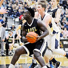 Don Knight | The Herald Bulletin<br /> Lapel's Preston Scott drives to the basket as the Bulldogs faced the Oak Hill Golden Eagles in the first round of the regional on Saturday.