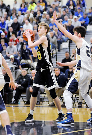Don Knight   The Herald Bulletin<br /> Lapel faced Oak Hill in the first round of the regional on Saturday.