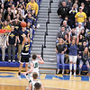 Chris Martin | For The Herald Bulletin<br /> Shenandoah's Andrew Bennett hits a late 3 pointer against Cloverdale. The Raiders lost 66-61 to Cloverdale in Regional 11 Saturday at Greenfield-Central