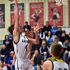 Richard Sitler | For The Herald Bulletin<br /> Jakeb Kinsey puts up a shot for the Raiders during the first half during the 2A basketball sectional 42 semi-finals at Knightstown on Friday.