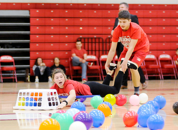 Don Knight   The Herald Bulletin<br /> Frankton held a semi-state pep rally on Friday. Frankton and Shenandoah will be competing in the semi-state today. You can find a preview for both games in today's Sports section.