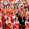 Don Knight | The Herald Bulletin<br /> Frankton's fans are dejected as the game slips away in the final moments of the second overtime against Andrean at Lafayette Jeff on Saturday.