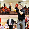 Don Knight | The Herald Bulletin<br /> Frankton coach Brent Brobston signals his players as they faced Andrean in the semi-state at Lafayette Jeff on Saturday.