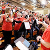 Don Knight | The Herald Bulletin<br /> Frankton faced Andrean in the semi-state at Lafayette Jeff on Saturday.