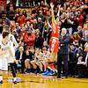 Don Knight | The Herald Bulletin<br /> Frankton beats Marquette Catholic to win semi-state at Lafayette Jeff on Saturday.