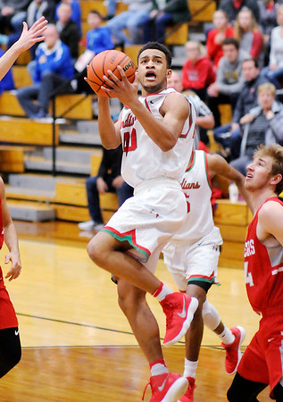 Don Knight | The Herald Bulletin<br /> Anderson faced Fishers in the sectional semi-final at Noblesville on Friday.