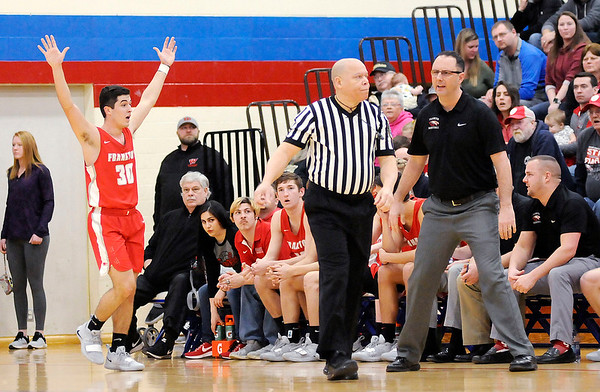 Don Knight   The Herald Bulletin<br /> Frankton faced Wapahani in the Class 2A Sectional 40 final at Elwood on Saturday.