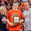 John P. Cleary |  The Herald Bulletin<br /> Frankton's Keegan Freestone is named the mental attitude award winner for Class 2A.