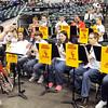 John P. Cleary | The Herald Bulletin<br /> Liberty Christian pep band.