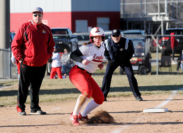 Don Knight   The Herald Bulletin<br /> Frankton hosted Lapel on Tuesday.