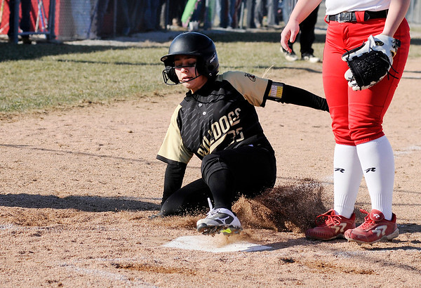Don Knight | The Herald Bulletin<br /> Frankton hosted Lapel on Tuesday.