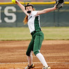 Don Knight | The Herald Bulletin<br /> Pendleton Heights' Jordan Benefiel pitches for the Arabians as they hosted the Center Grove Trojans on Friday.