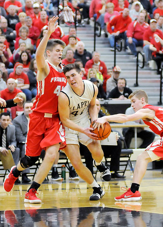 Don Knight | The Herald Bulletin<br /> Frankton faced Lapel in the sectional final on Saturday.