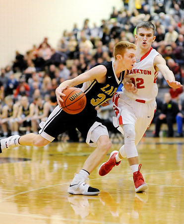 Don Knight | The Herald Bulletin<br /> Frankton wins the 2A sectional championship at Lapel on Saturday.