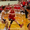 Frankton vs Wapahani in IHSAA 2a Sectional basketball championship game.