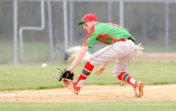 Don Knight | The Herald Bulletin<br /> Lapel hosted Anderson on Thursday in the semifinal round of the Nick Muller Memorial Baseball Tournament.