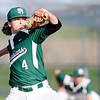 Don Knight | The Herald Bulletin<br /> Pendleton Heights' Chayce McDermott pitches for the Arabians against Elwood on Wednesday.