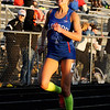 Don Knight | The Herald Bulletin<br /> Elwood's Kaylee Lane breaks her own meet record as she wins the 400 becoming a four-time champion during the Madison County Track Tournament at Madison-Grant on Friday.