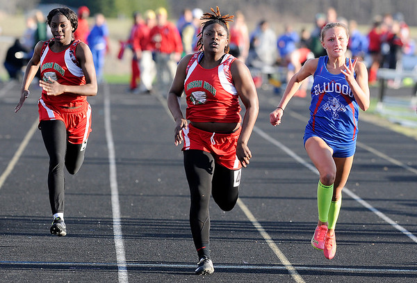 Don Knight   The Herald Bulletin<br /> Madison County Track Tournament at Madison-Grant on Friday.