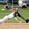 Don Knight   The Herald Bulletin<br /> Anderson faced Pendleton Heights at Memorial Field during the Nick Muller Memorial Baseball Tournament on Friday.