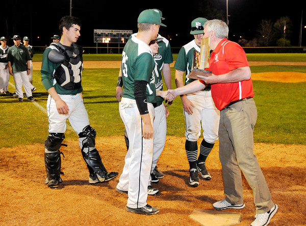 Don Knight | The Herald Bulletin<br /> Pendleton Heights won the Nick Muller Memorial Baseball Tournament on Saturday.