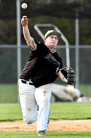 John P. Cleary   The Herald Bulletin <br /> Daleville vs Lapel in baseball.