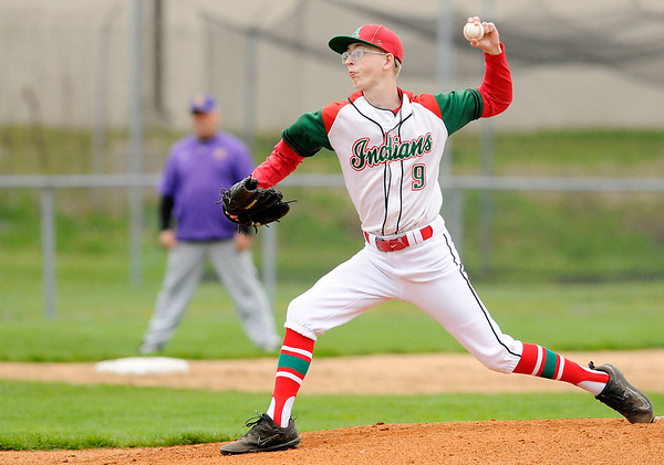 Don Knight | The Herald Bulletin<br /> Indians hosted Marion on Wednesday.