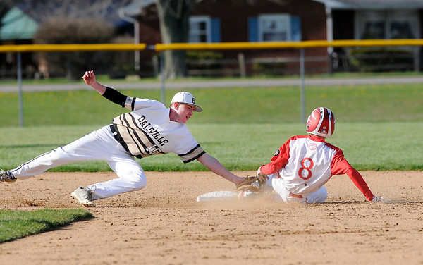 Don Knight | The Herald Bulletin Frankton hosted Daleville on Wednesday.