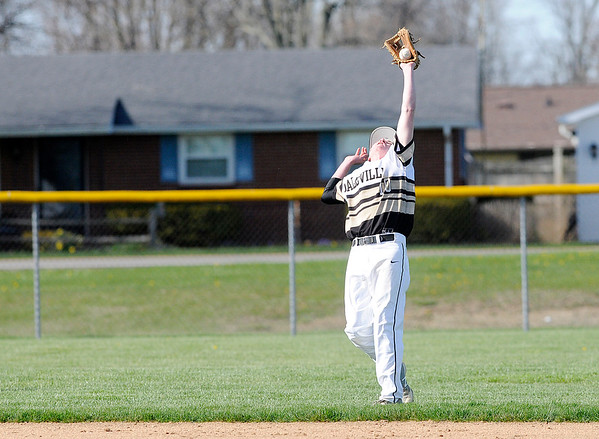 Don Knight   The Herald Bulletin Frankton hosted Daleville on Wednesday.