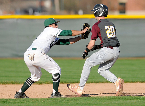 Don Knight   The Herald Bulletin<br /> Pendleton Heights hosted Alexandria in the first round of the Nick Muller Memorial Baseball Tournament on Tuesday.