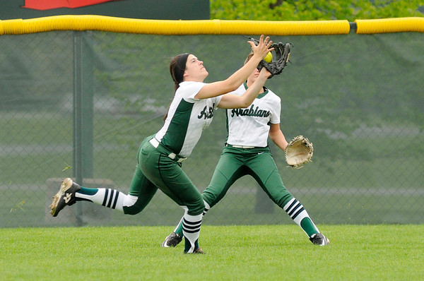 Don Knight   The Herald Bulletin<br /> Pendleton Heights hosted New Palestine on Wednesday.