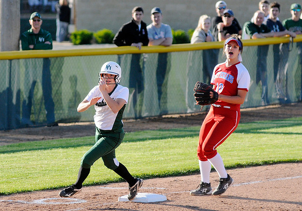 Don Knight | The Herald Bulletin<br /> Pendleton Heights hosted Martinsville on Friday.