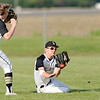 Don Knight | The Herald Bulletin<br /> Lapel's Justin Engle makes a diving catch in the outfield as the Bulldogs hosted Anderson on Wednesday.