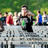 John P. Cleary | The Herald Bulletin<br /> Lapel's Sean Thompson runs the 110 meter hurdles and wins the sectional with a record-setting time of 14.57.