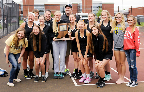 Don Knight | The Herald Bulletin<br /> Lapel beat Alexandria 3-2 to win the sectional at Highland Middle School on Friday.