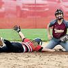 John P. Cleary | The Herald Bulletin <br /> Alexandria vs Wapahani in 2A softball sectional play.