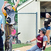 John P. Cleary | The Herald Bulletin<br /> Alexandria vs Monroe Central in the Lapel 2A softball sectional.