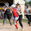 Don Knight   The Herald Bulletin<br /> Lapel hosted Elwood in the second day of sectional action on Tuesday.