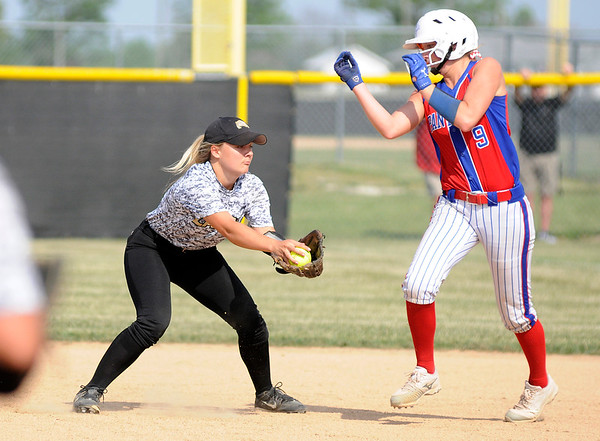 Don Knight | The Herald Bulletin<br /> Lapel hosted Elwood in the second day of sectional action on Tuesday.
